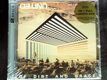Hillsong United - Of Dirt And Grace: Live From The Land Australia CD+DVD SEALED DELUXE EDITION Jewel case damaged