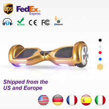 Buy hoverboard Bluetooth Electric Skateboard Smart 2 wheel self Balance steering-wheel Standing scooter hover board for $104.98 in AliExpress store
