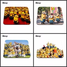 High  Cute Cartoon Anime Minions Anti-Slip PC  Silicon Mouse Pad Mat Mice Pad for Optical mat 18*22cm /25*29cm Or 25*20cm