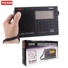 TECSUN PL-600 Full-band Stereo Digital Tuner AM/FM/LW/SW SSB Shortwave Radio Build-in with Clock Retail-Wholesale FM Radio Hot(China)