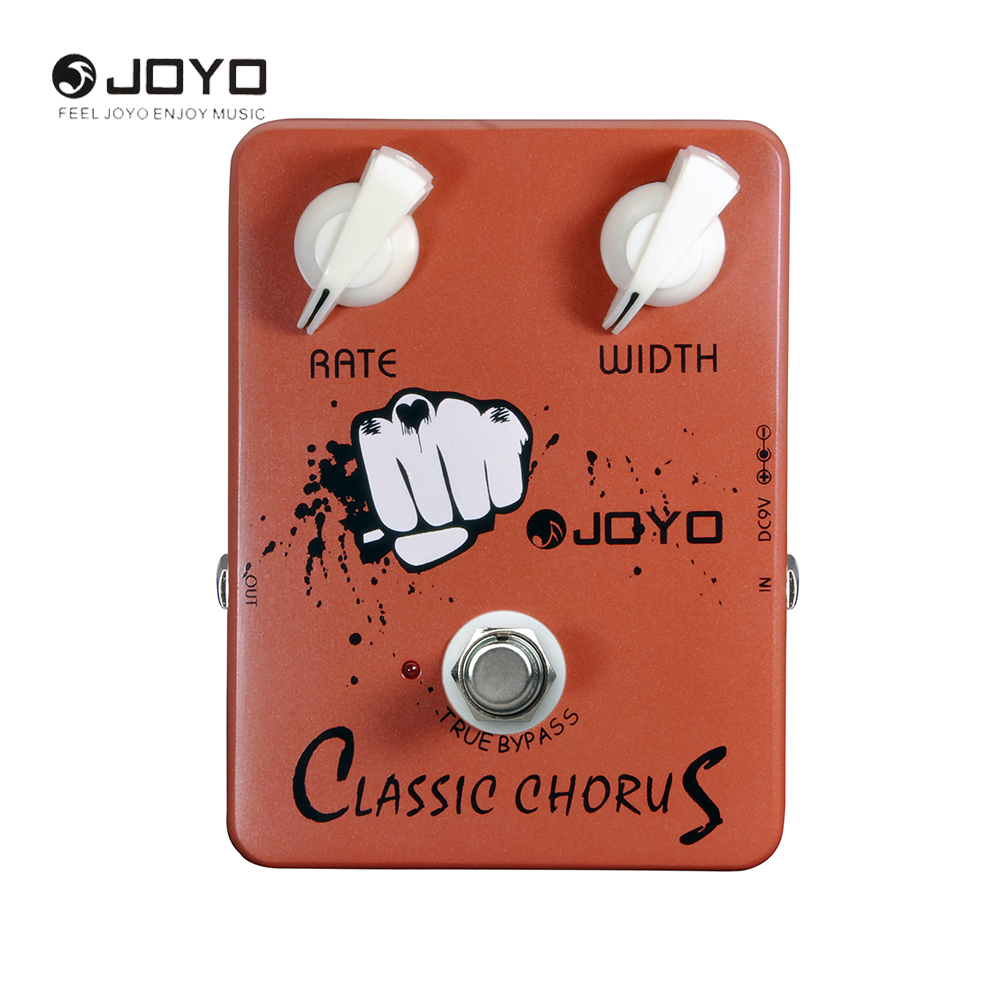 JOYO JF-05 Classic Chorus Guitar PEffect Pedal With True Bypass 2 Knobs Electric Guitar Accessories<br>