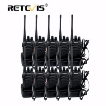 10pcs Cheap Walkie Talkie Radio Retevis H777 3W 16CH UHF 400-470MHz Flashlight CTCSS/DCS Walkie-Talkie Communication Equipment