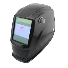 Out control Big view area 4 arc sensor Solar Auto darkening TIG MIG MMA grinding welding helmet/face mask/welder mask/goggles(China)