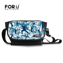 FORUDESIGNS Shoulder Cross-body Bags Casual Canvas Bags Travel Oxford Camouflage Messenger Bag Multi Purpose Men Cross Body Bag