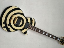 New Electric Guitar Custom Zakk Wylde bullseye guitar Electric Guitar zakk guitar