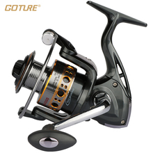 Goture Fishing Reel 12BB + 1RB Spinning Reel Boat Rock Fishing Wheel 1000-7000 Series Metal Spool