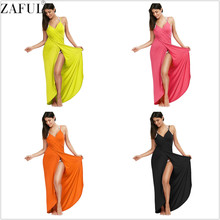ZAFUL Beach Cover Up Sexy Robe Plage Candy Color Beach Long Dress Pareos Women Beach Tunic Sarong Bathing Suit Bikini Cover Up