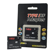 High Speed SD to CF Adapter SDXC SDHC to Standard Compact Flash Type I Card Converter Adapter Support UDMA 128GB