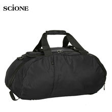 Scione A++ Men Gym Bag Basketball Fitness Shoulder Backpack Outdoor Sport Football Bags With Shoes Storage Handbag Tote XA276WA(China)