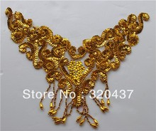 Costume Sequined collar beading hair accessory handmade flower paillette