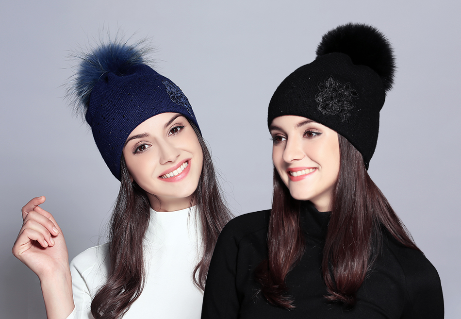 winter hats for women MZ713B (1)