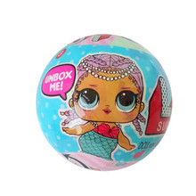 LOL Egg Surprise Doll Magic Funny Removable Egg Ball Doll Toy Educational Novelty Kids Unpacking Surprise Dolls Girls Toys(China)