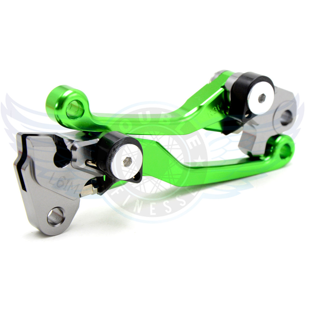 motorcycle Pivot Brake Clutch Levers cnc brake clutch lever For Kawasaki Kx 250f Kx 450 F 2006 2007 2008 2009 2010 2011 2012<br><br>Aliexpress