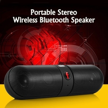 Portable FM Stereo Wireless Bluetooth Speaker Shockproof with mic For smartphone Tablet AUX computer USB TF card FM