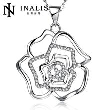 N898-C Wholesale Nickle Free Antiallergic 18K Real Gold Plated Necklace pendants New Fashion Jewelry