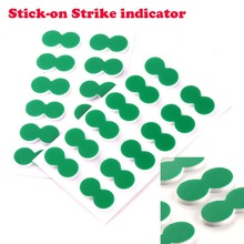 24pcs New Green Self-Adhesive Foam Fly Fishing Stick On Strike Indicator(China)