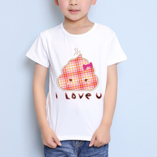 TEEHEART Boys/girls's Modal T-shirt Funny Cartoon Pooh Printed 18M-10T Summer Children Casual Clothing TA360(China)