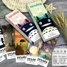 32 pcs/pack My neighbor Totoro book marks Cartoon paper bookmark Stationery office accessories School supplies marcador