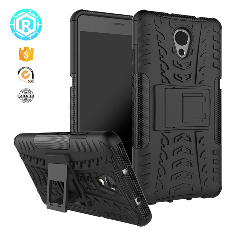 "R Lenovo Vibe P2 Case Hybird Armor PC+TPU Shockproof Cover Stand Holder Lenovo Vibe P2 P2c72 P2a42 5.5"" Phone Back Cases"