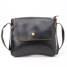 2017 Fashion Retro Women Lady Faux Leather Shoulder Messenger Crossbody Bag Tote Snap Adjustable Strap Soft Solid 4 Colors(China)