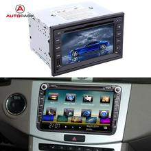 "KKmoon 6.2"" 2 Din Mirror Connect Android Cellphone Car DVD/USB/SD Player Bluetooth GPS Navigation Car Entertainment System"