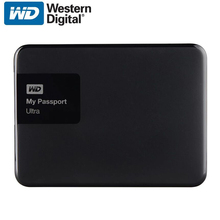 WD My Passport Ultra External Hard Drive Disk HD 1TB High Capacity SATA USB 3.0 Storage Device Original for Computer Laptop