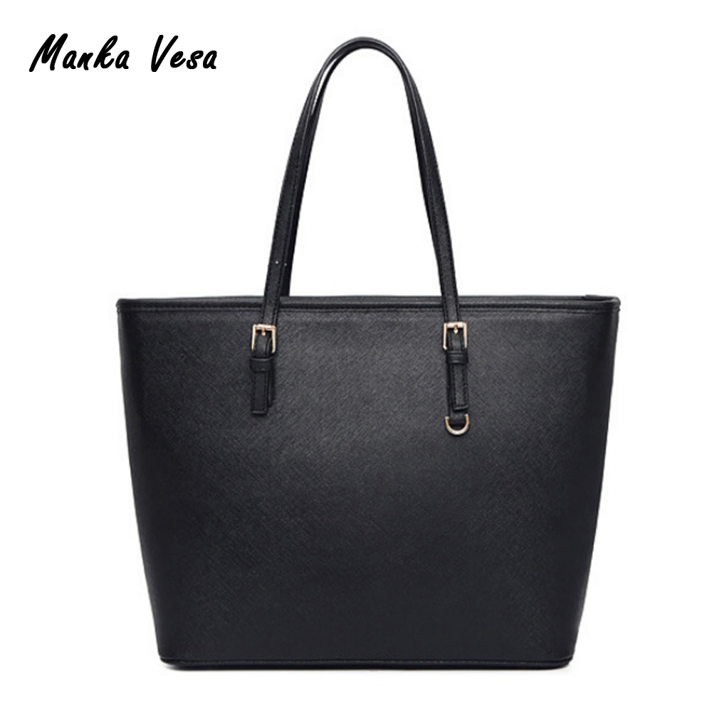 Large Capacity Luxury Handbags michael same style Women Bags Designer Famous Brand Lady Leather Tote Bags sac a main<br><br>Aliexpress