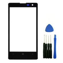 Front Screen Outer Glass Lens Replacement Repair Part For Nokia Lumia 1020 Black+Tools