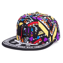2017 New Graffiti Letters Pattern Snapback Hat For Children Girls Hat Boy Caps Baby Baseball Cap Kids Hip-Hop Cap Drop Shipping