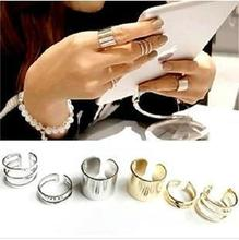 Korea imported jewelry 1 set=3pcs all- star models copper material Master's Sun Rings fashion ring(China)