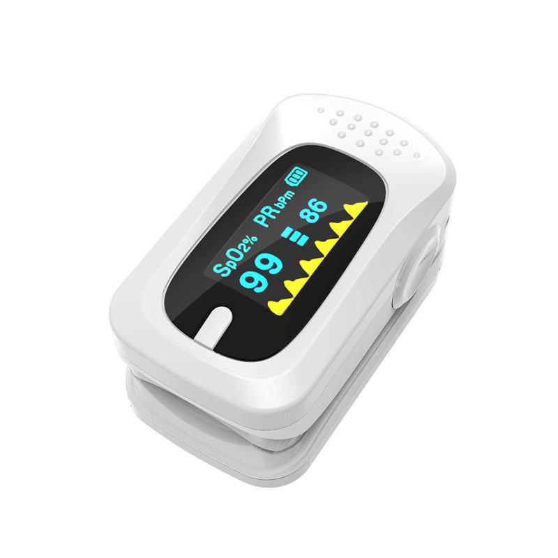 Portable Finger Pulse Oximeter Digital Blood Oxygen Pressure Meters Device Medical Equipment Household Health Monitors 13