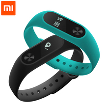 Original Xiaomi Mi Band 2 Wristband Smart Bracelet MiBand 2 Heart Rate Monitor Fitness Tracker OLED Screen for Android and IOS(China)
