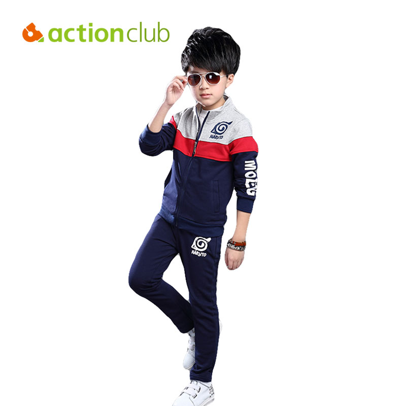 2017 New Boys Clothing Set Kids Clothes Long-sleeve Kids Clothing Sets Casual Sport a Set For 5-14T Boy KS467<br><br>Aliexpress