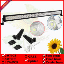 42inch 240W led offroad light bar used for 4wd Driving Tractor Boat Truck SUV ATV Car Garden Backyard 12V 24V LED Bar(China)