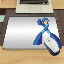 Mega Man In His Blue Costume Custom Dest Computer Gaming Mouse Pad for Size 18x22cm and 25x29cm