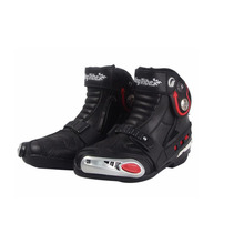 Riding Tribe mens Motorcycle boots Motocross Off Road Racing Boots High Speed Shoes Riding Protection Gear