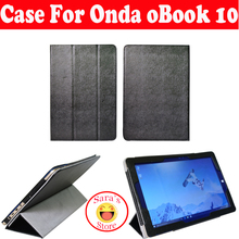 2016 Fashion PU Case For 10.1 inch Onda oBook 10 Tablet PC Onda oBook 10 Case Cover oBook10 Case+Free Shipping With 3 Gifts