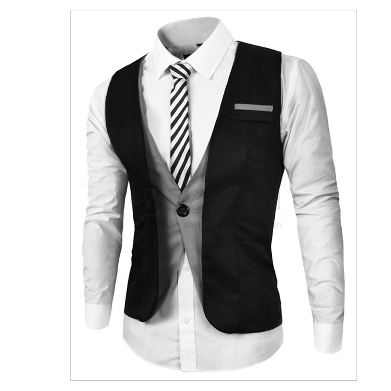 57 (1)European Style Plus Size Mens Vest England Fashion Mens Suit Vest Cheap Price Men Business Slim Fit Suit Vest For Men