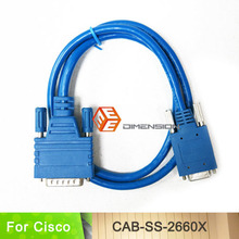 3FT length network routers cable CAB-SS-2660X Smart Serial DTE/DCE cable for Cisco WIC-2T to WIC-1T(China)