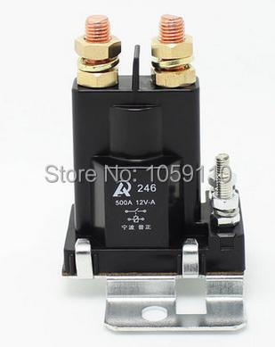1PCS 500A DC contactor relay large current total power 12V car modification<br>