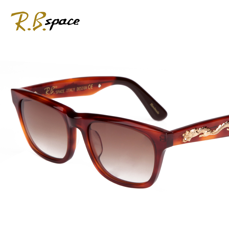 RBspace Limited edition golden dragon male fashion sunglasses 2017 vintage sunglasses glasses<br><br>Aliexpress