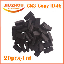 20pcs pcs/lot KEY CHIP CN3 TPX3/TPX4 ID46 (Used for CN900 or ND900 device) universal Car Key Transponder Chip CN3 High Quality