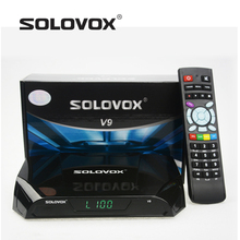 2016 New Arrival 10PC Genuine SOLOVOX V9 Satellite Receiver/ TV Box Support YOUTUBE/DLNA 2 USB IPTV 3G modem(China)