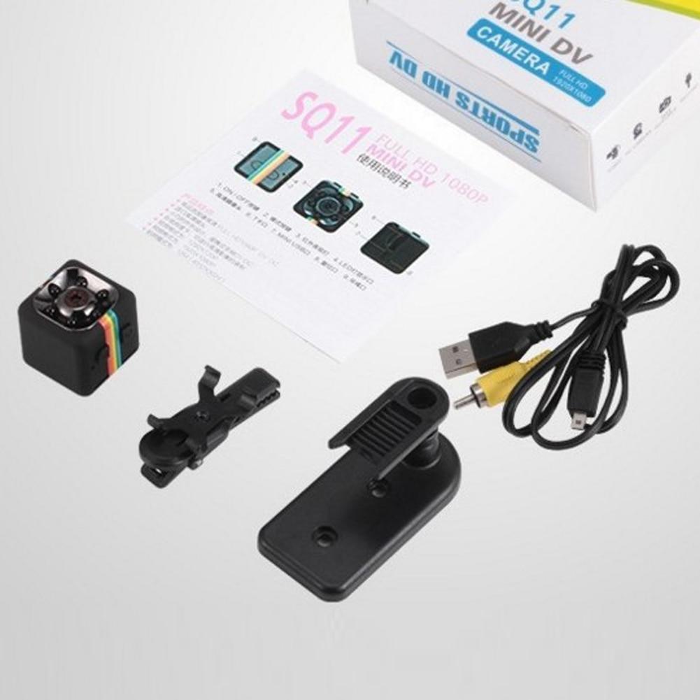 Original Mini Car DVR Camera Full HD 1080P 140 Degree Night Vision G-Sensor Motion Detection Cycle Recording DVRS High Quality 18