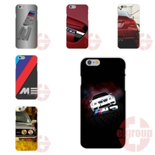 Soft TPU Silicon Cell Phone Case For Apple iPhone 4 4S 5 5C SE 6 6S 7 7S Plus 4.7 5.5 M3 BMW M Car