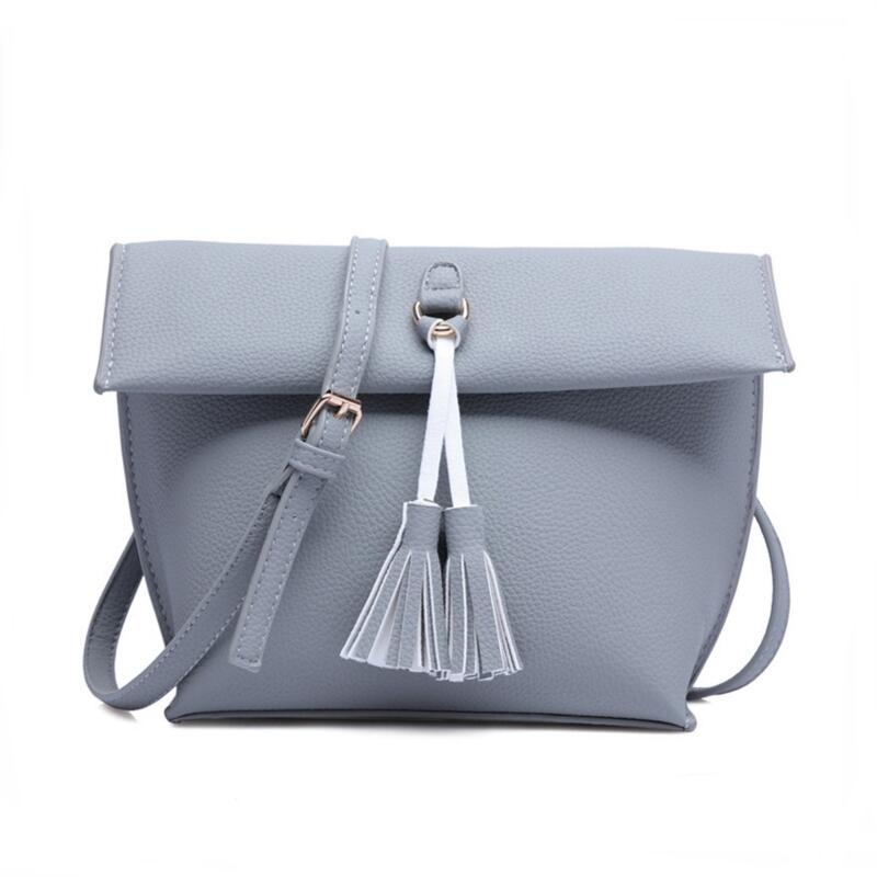 Women Shoulder Bags Bucket Tassel PU Leather Hasp Black Sling Fashion Crossbody Bag Bolso Mujer Monederos Sac Pochette Femme<br><br>Aliexpress