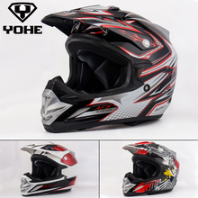 YOHE YH-A623 new fashion Genunie Motorcycle Helmet Motorbike Ece Top Quality Best Safe Abs Unisex Off road Helmet