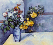 hand-painted oil painting reproduction of Cezanne famous artists painting hand-made canvas art  Flowers-in-a-Vase