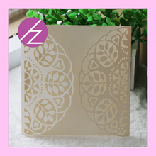 12pcs/lot hot sale 2016 hot sell laser cut cards paper crafts various kinds of invitation cards for your choose QJ-65(China)