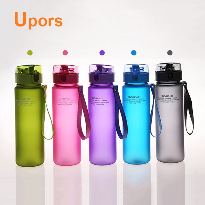 High Quality 550mL Leak Proof and Dust Free Lid Bicycle Camping Sport Plastic Drink Water Bottle BPA Free Water Bottle(China (Mainland))